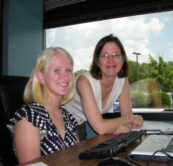 Erin Tyrell and Suzy Newton of Tennessee Literacy Coalition